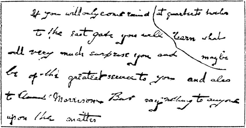 quarter note rest handwritten